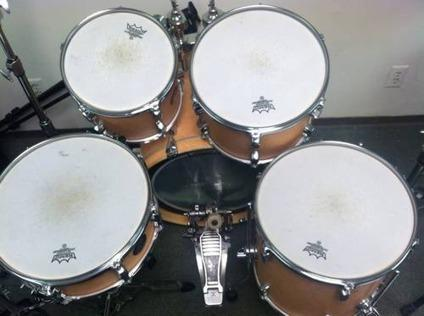 5 piece sonor force 1005 drum set for sale in campbell california classified. Black Bedroom Furniture Sets. Home Design Ideas
