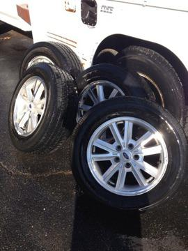 $600 OBO 16 Ford OEM rims w BF Goodrich tires