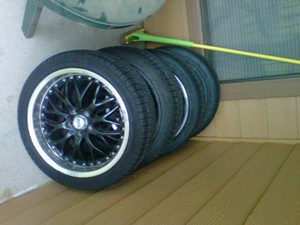 $600 OBO 18 inch tires and rims
