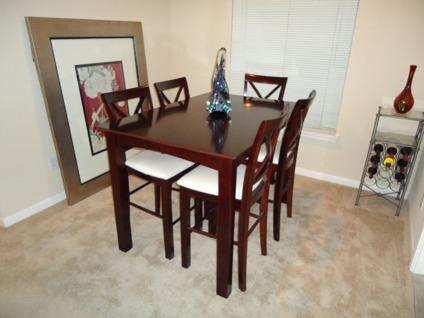 OBO Hamilton Spill Dining Room Table and Chairs for Sale in