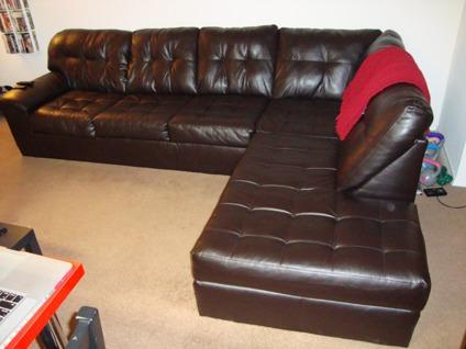 $600 OBO Simmons Manhattan Sectional *LIKE NEW!! Bought : simmons 2 piece sectional - Sectionals, Sofas & Couches