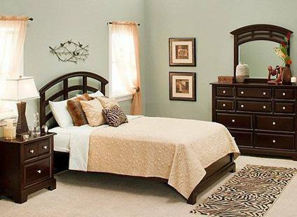 Raymour & Flanigan Horizon 3-pc. Queen Bed, Dresser and Nightstand ...
