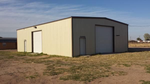 / 2400ft² - Metal Shop & RV Hookups for Sale in Pecos ...