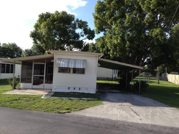 2br - 2 bedroom/1 bath mobile home in 55+ park, owner