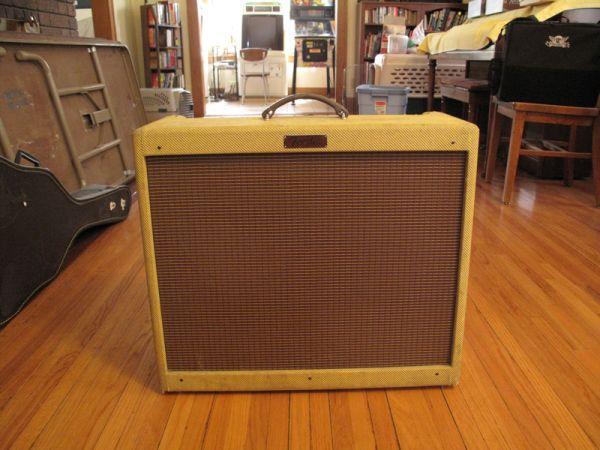 60w Tube Fender Deville 212 Amp