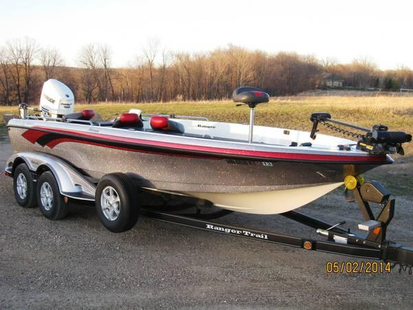 620t ranger boat for sale in underwood minnesota for Boat motors for sale mn