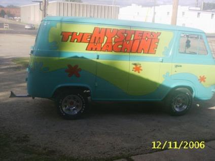 64 ford van 8 door scooby doo mystery machine for sale in greenville south carolina classified. Black Bedroom Furniture Sets. Home Design Ideas
