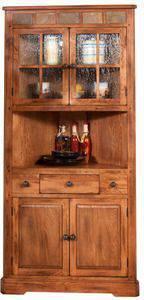 $642 Sunny Designs Dining Room Sedona Corner Oak China