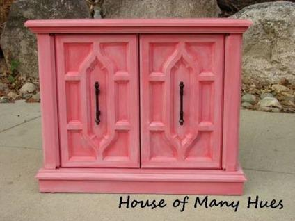 $65 Blush Pink Accent Table Nightstand End Table