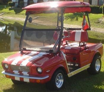 65 Old Car Custom Club Car Golf Cart For Sale In Mokena
