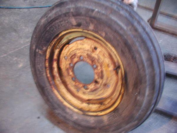 Ford Tractor Tires And Wheels : Tire rim wheel jd ih ac ford tractor wagon