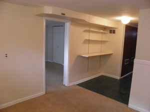 2br 650ft basement apartment w private entrance nw