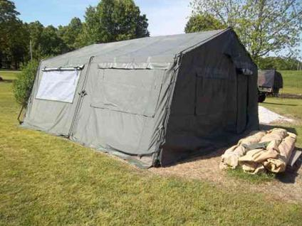 $650 Military 16 by 16 tent