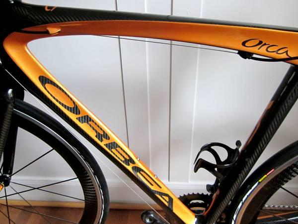 $6500 ORBEA ORCA carbon road bike w SRAM Red + Cosmic
