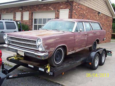 ford fairlane wagon rat rod street rod hot rod