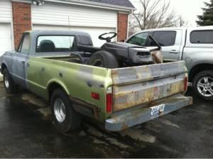 67 72 chevy truck bed richmond for sale in lexington kentucky classified. Black Bedroom Furniture Sets. Home Design Ideas
