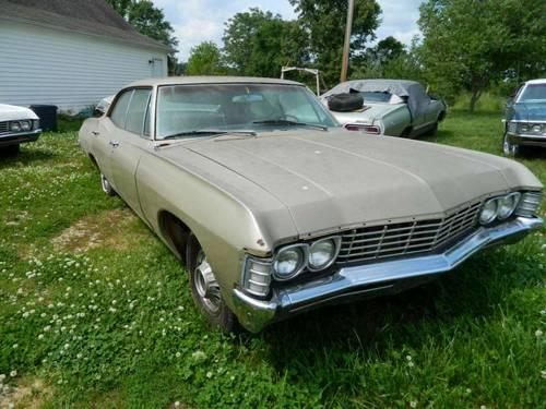 67 Chevy 4dr 1967 Chevrolet Impala 4 door Hardtop