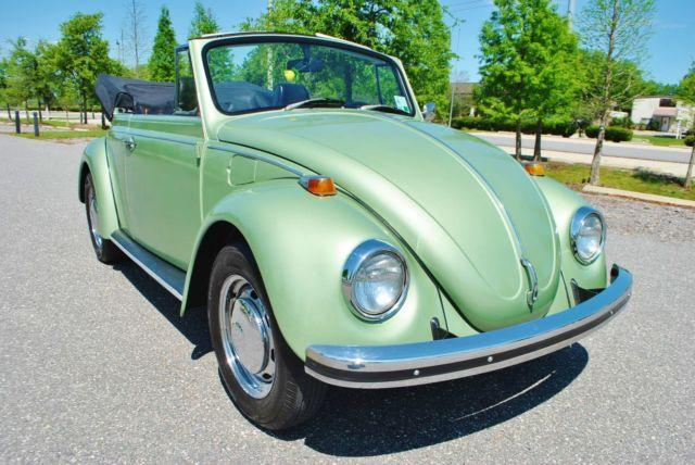 68 VW Beetle Convertible Truly an Amazing Find Beautiful Top to Bottom for Sale in Lakeland ...