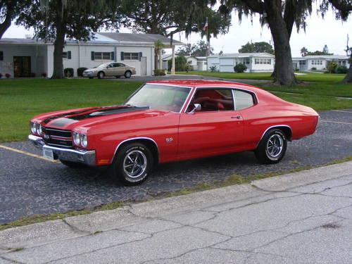 69 Chevy Chevelle Ss 369 Coupe For Sale In Sarasota