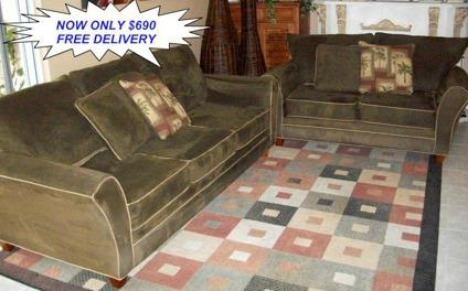 Obo Kevin Charles Microfiber Sleeper Sofa Loveseat For Sale In Saint Lucie West Florida