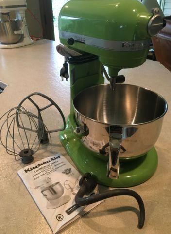 6qt Green Apple Kitchenaid Mixer For Sale In Oregon City