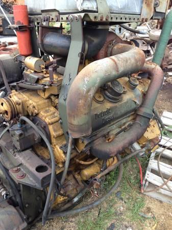 6v53 DETROIT TURBO DIESEL ENGINE RUNS GOOD - $1500
