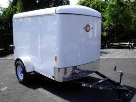 **6X12 ENCLOSED CARGO TRAILER**