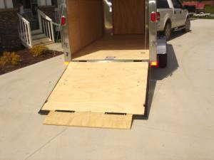 6x12 Enclosed Cargo Trailer w/ Ramp - $2232