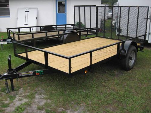 6x12 Utility Trailer - Brand NEW - full warranty - at