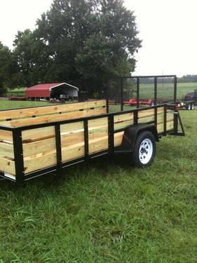 6x12 39 wood hauler trailer 2 39 deck board 5 tie down diamond for 6x12 wood floor trailer