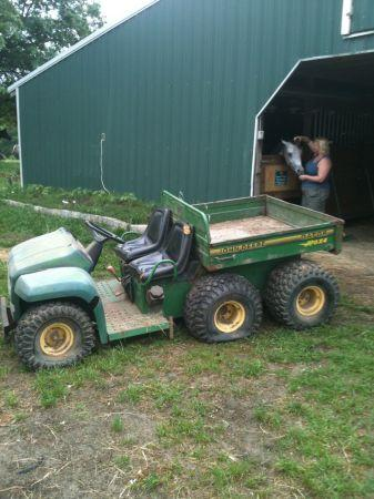 6x4 john deere gator macon for sale in macon georgia. Black Bedroom Furniture Sets. Home Design Ideas