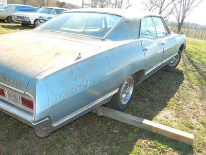 1967 Chevy Impala 4 Door Hardtop Supernatural 67 Chevrolet 4dr | Autos