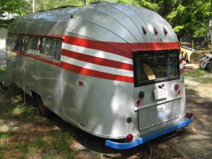 7000 Airstream Camper Vintage 1956