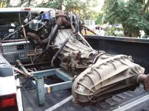 7 3 POWER STROKE DIESEL, TRANSFER CASE AND TRANSMISSION - $3000 (INLAND  EMPIRE AREA)