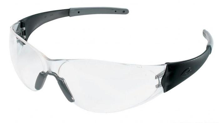 05a7f0339ed EDUCATORS  CHECKMATE 2 SAFETY GLASSES BLACK CLEAR  FREE SHIPPING ...