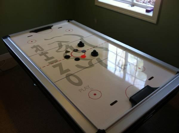75 rhino air hockey table for sale in stanwood michigan 75 rhino air hockey table 125 greentooth Choice Image