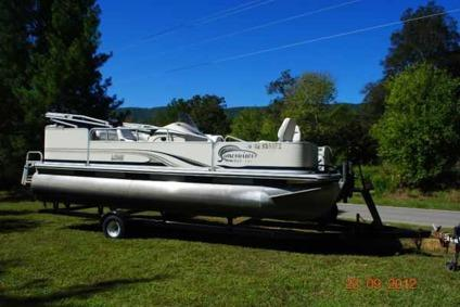 $7,500 Two boats Pontoon and Bass Boat