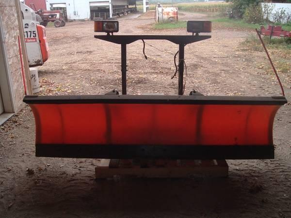 7 6 Sno Way Snow Plow With Chevy Mounts For Sale In Cambridge