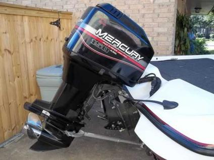 2000 nitro 882 bass boat with 150hp mercury for Outboard motors for sale houston