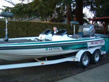 1995 Skeeter 200ZX Bass Boat (Woodland, WA) for Sale in ...