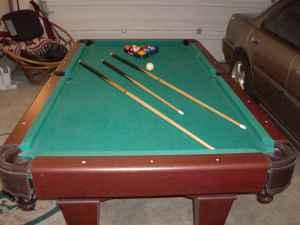 7 ft. Pool Table - $120 Lebanon, Or