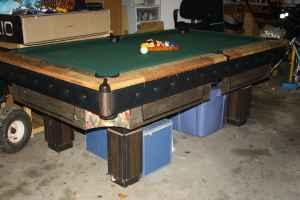 7 ft slate pool table and accessories - $180 EasleyWren schools area