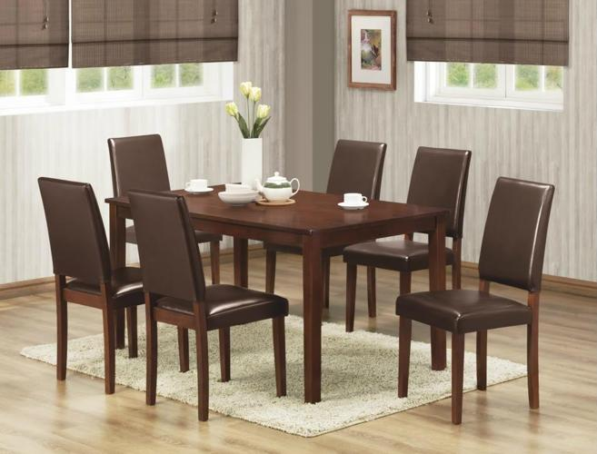 pc dining table and 6 chairs rooms furniture save 713 266