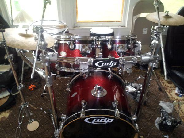 Pdp Drums For Sale : 7 piece pdp x7 drum set for sale or trade northwest for sale in houston delaware ~ Russianpoet.info Haus und Dekorationen