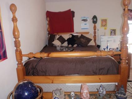 7 piece solid pine queen bedroom furniture set or barter for V furniture palmdale ca