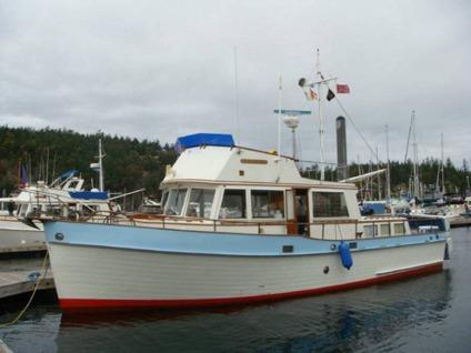 1969 grand banks 42 heritage classic wood trawler motor for Grand banks motor yachts for sale