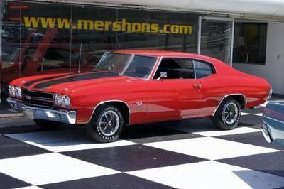 70 Chevelle SS Coupe 396 4 Speed