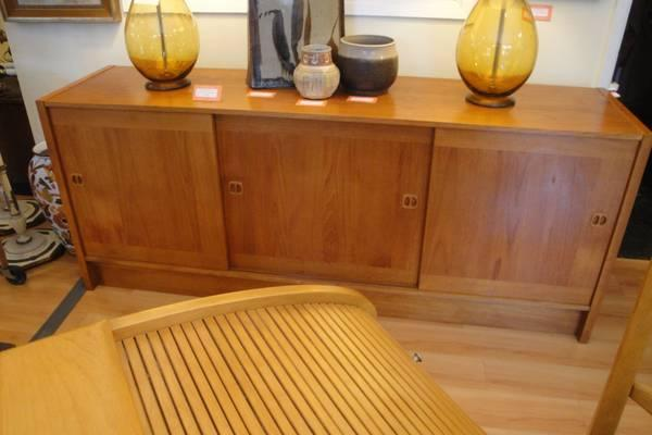 Danish Teak Credenza For Sale : 70s danish modern teak credenza by clausen & son. for sale in