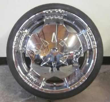 Buy Here Pay Here Tampa >> Mpw 5 Lug 20 Inch Chrome Rims & Tires - Bolt Pattern 5x4.5 / 5x108 for Sale in Tampa, Florida ...