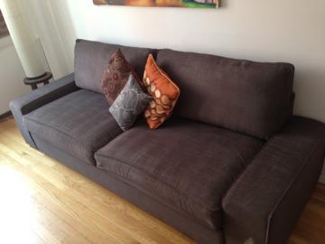 Obo Really Comfortable Queen Sofa Bed With Thick Mattress For Sale
